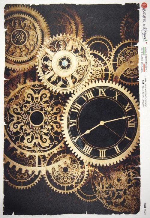 Rice Paper - Clock Movements