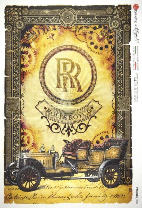 Rice Paper - Rolls Royce