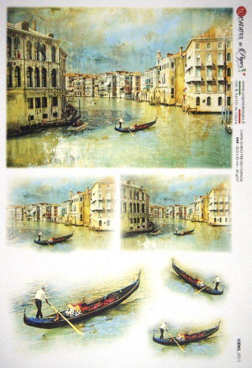 Rice Paper - Venice Gondola