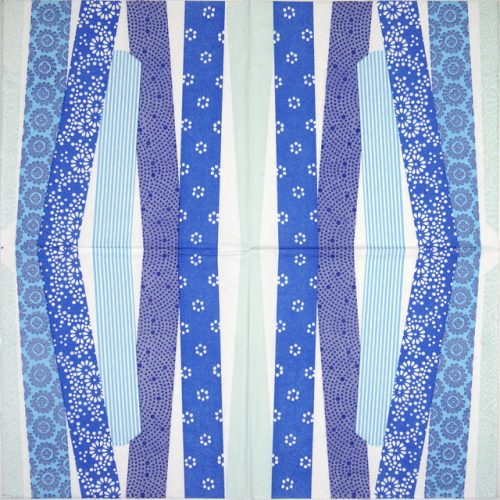 Paper Napkin - Patch Blue