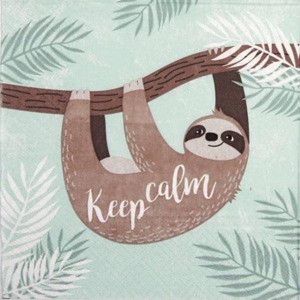 Lunch Napkins (20) - Keep Calm