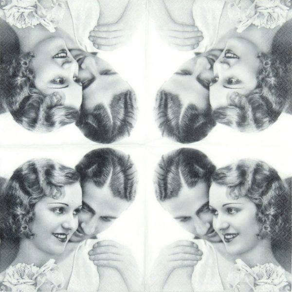 Paper Napkin - True Love
