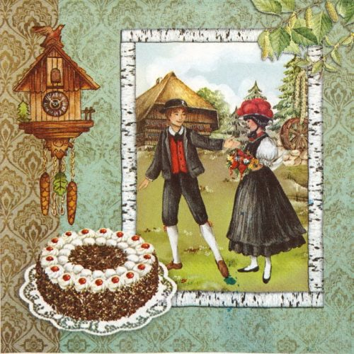 Paper Napkin - Tradition