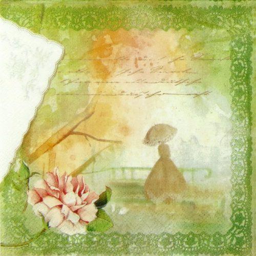 Paper Napkin - Romance