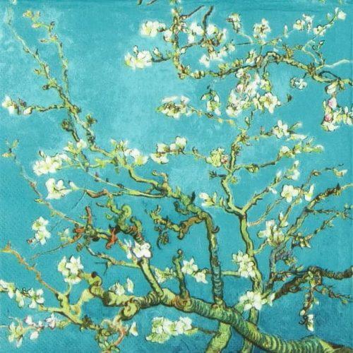 Paper Napkin - Van Gogh: Almond Blossom