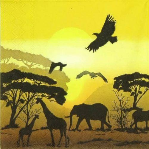 Paper Napkin - Africa Safari