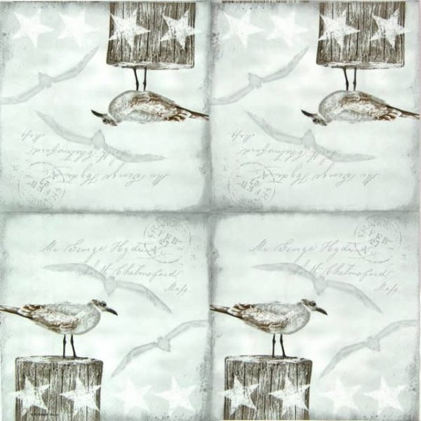 Lunch Napkins (20) - Seagulls