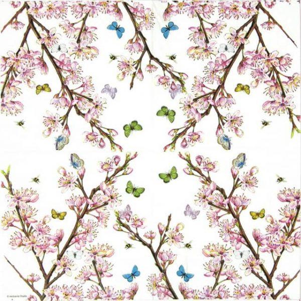 Paper Napkin - Blossom Cream