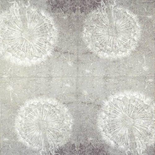 Paper Napkin - Dandelion Grey