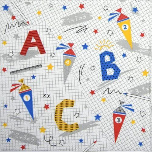 Paper Napkin - ABC