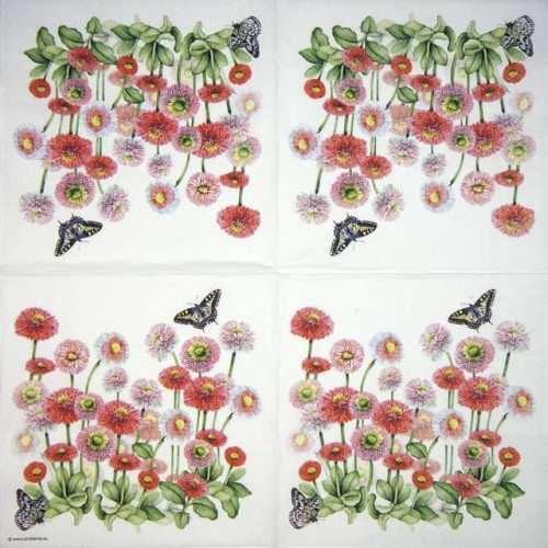 Cocktail Napkin - Bellis