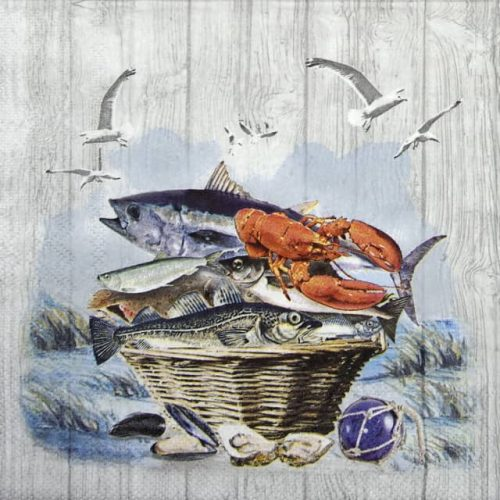 Lunch Napkins (20) - Catch Of The Day