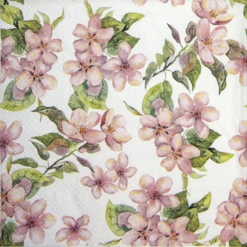 Paper Napkin - Cherry Blossom Rose