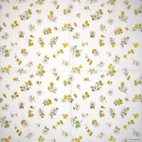 Cocktail Napkin - Daisy All Over