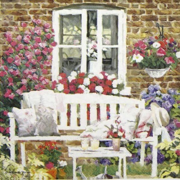 Lunch Napkins (20) - Garden Bench