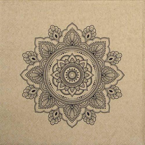 Paper Napkin - Mandala Nature