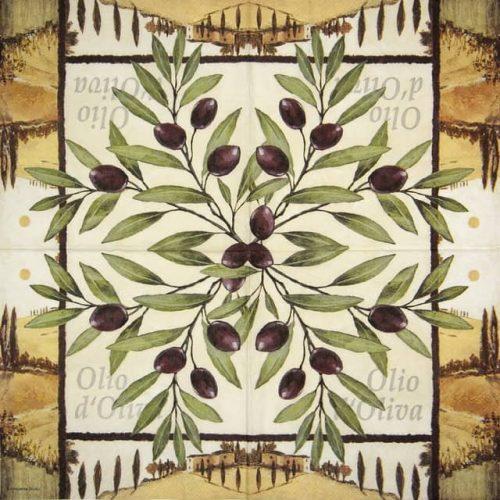 Paper Napkin - Oliva