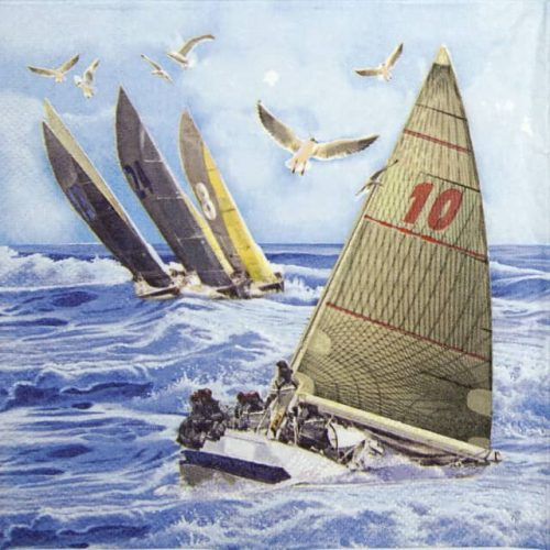 Lunch Napkins (20) - Sailboats