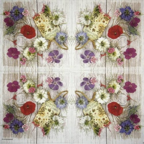 Paper Napkin - Summer Flowers