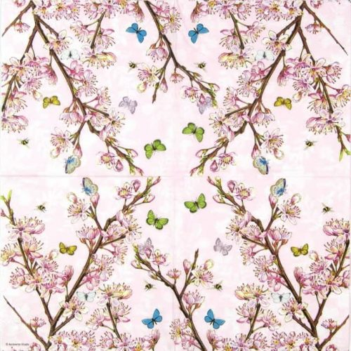 Lunch Napkins (20) - Blossom Rose