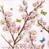 Paper Napkin - Blossom Rose