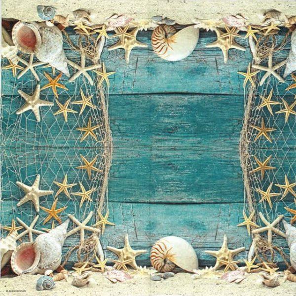 Paper Napkin - Starfish