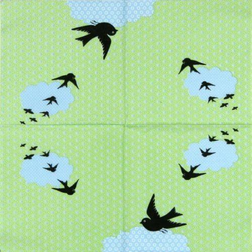 Paper Napkin - Arioso green