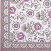 Paper Napkin - Kalamkari Pink
