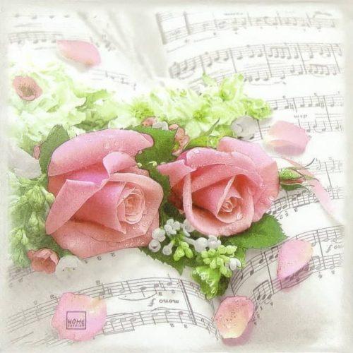 Paper Napkin - Flower Symphony