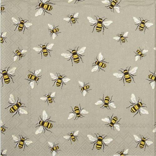 Lunch Napkins (20) - Lovely bees linen