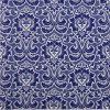 Lunch Napkins (20) - Wallpaper Pattern Warm Navy