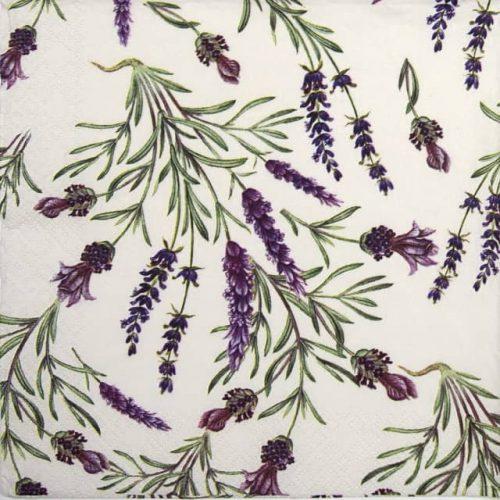 Paper Napkin - Lavender Twigs