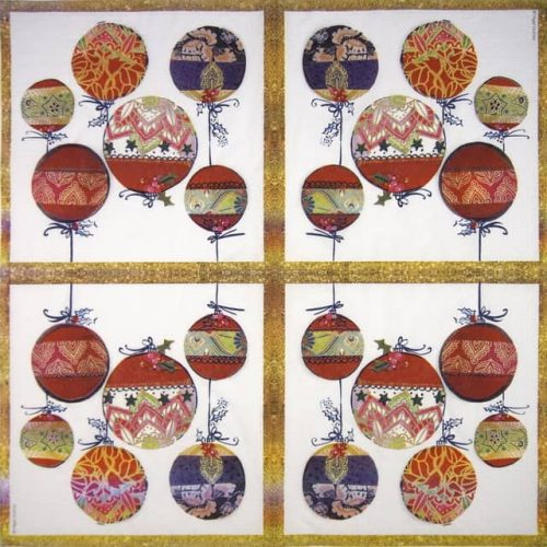 Lunch Napkins (20) - Nigel Quiney: Christmas Ornaments