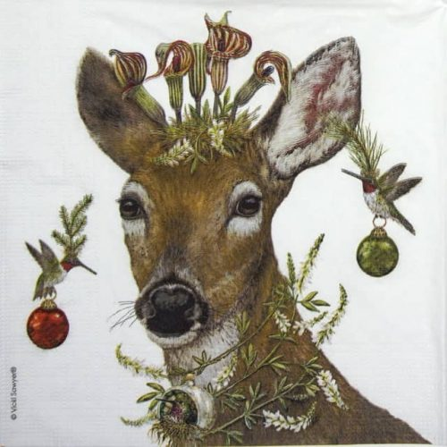 Lunch Napkins (20) - Vicki Sawyer: Christmas Princess