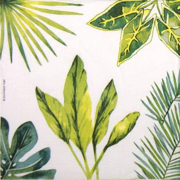 Paper Napkin - Dominique Tage: Jungle Summer Party