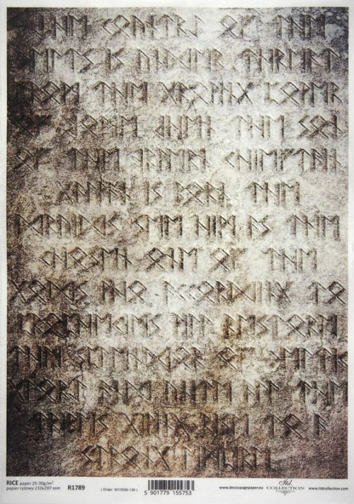 Rice Paper - Runes