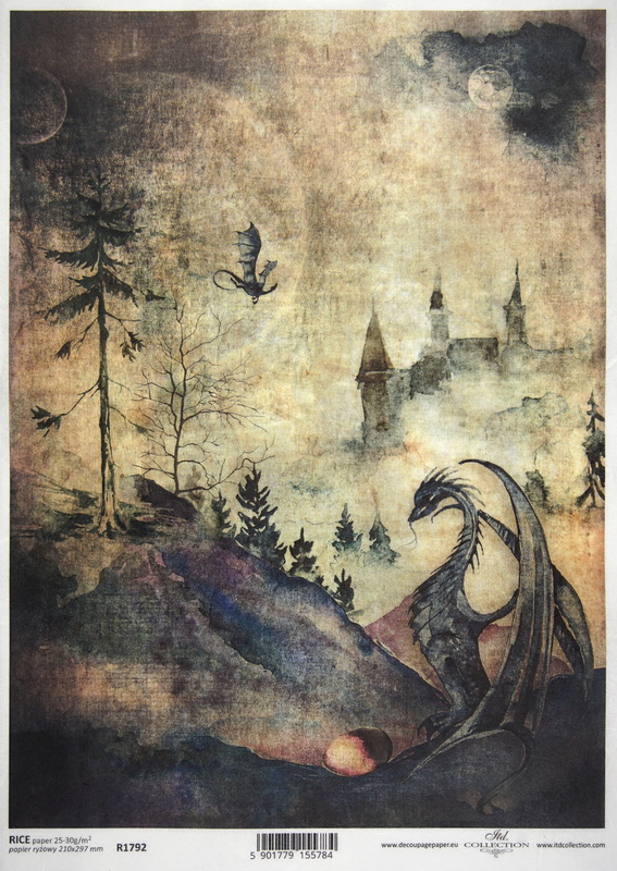 Rice Paper A/3 - Haunted Village