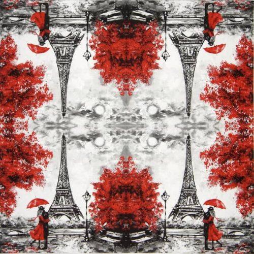 Paper Napkin - L'Amour a Paris
