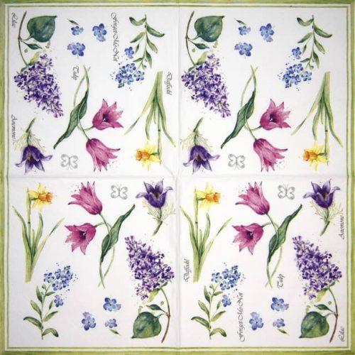 Paper Napkin - Collezione Floreale Primavera