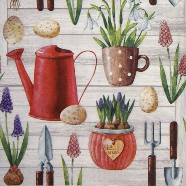 Paper Napkin - Hello Spring