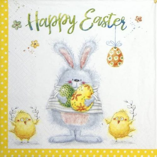 Lunch Napkins (20) - Happy Easter Team