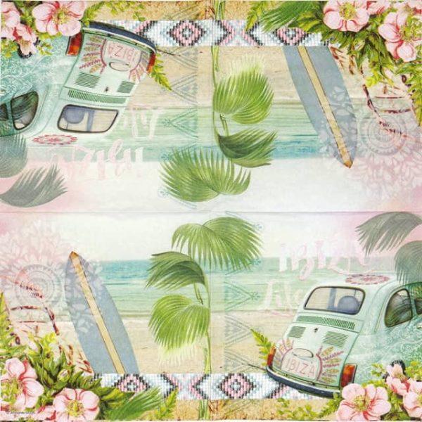 Paper Napkin - Ibiza Life