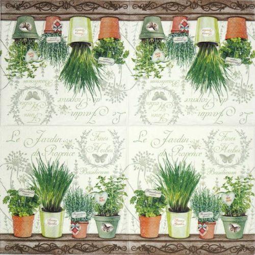 Paper Napkin - Le Jardin