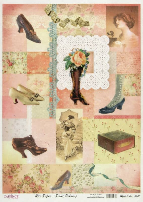 Rice Paper - Shoes