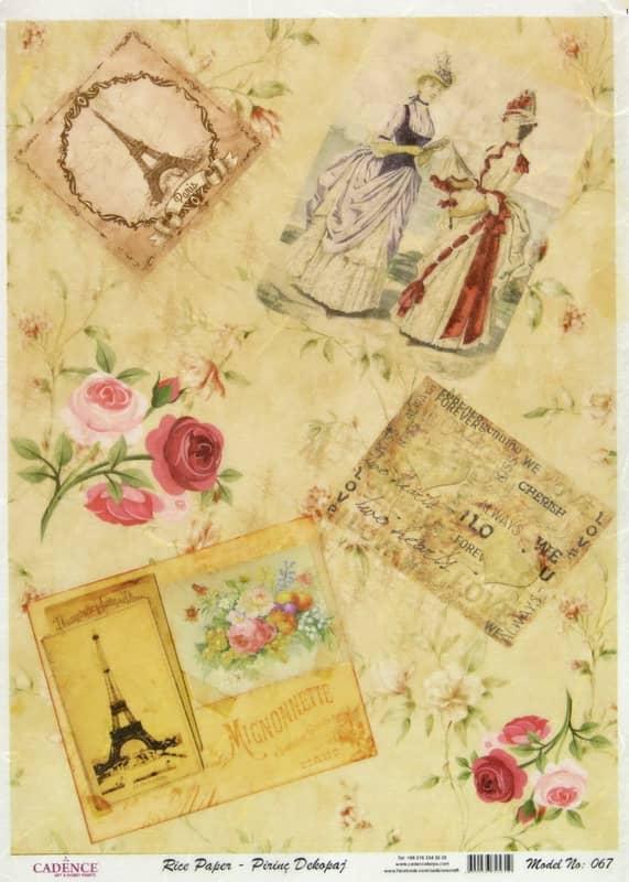 Rice Paper - Old Paris