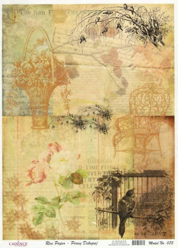 Rice Paper - Garden Paper