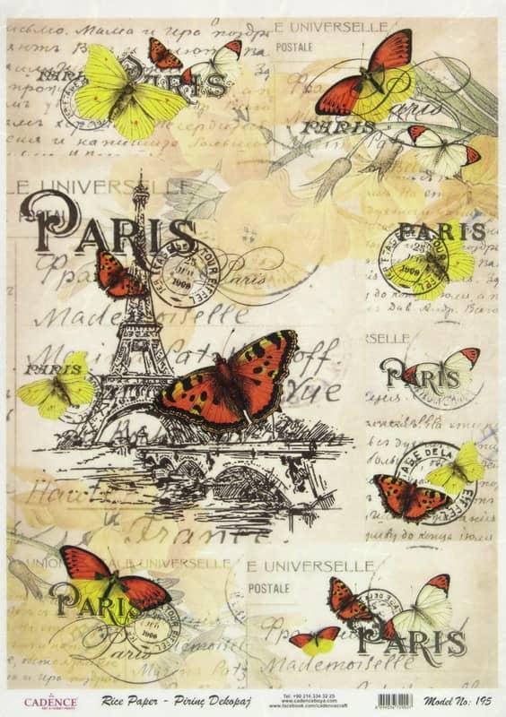 Rice Paper - My Love Paris