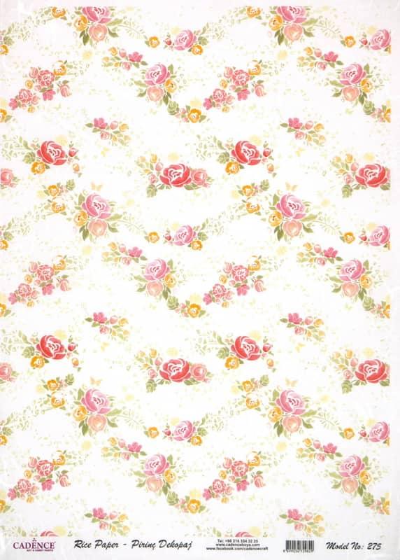 Rice Paper - Flower Garland