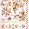 Rice Paper - Flowers Borders & Corners