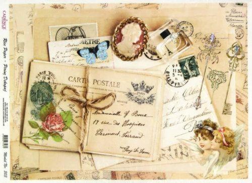 Rice Paper - Carte Postale